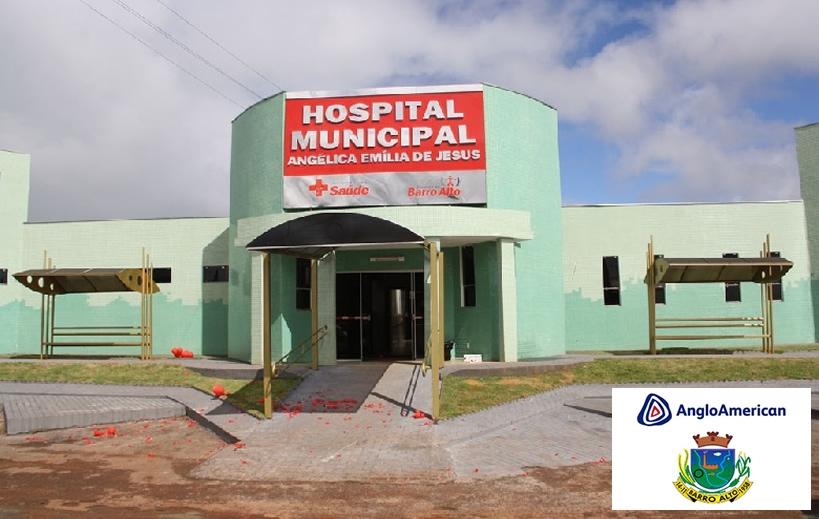 Hospital Municipal Angélica Emília de Jesus - Barro Alto - GO