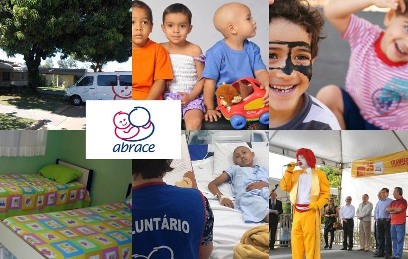 Abrace - apoio a crianças com câncer