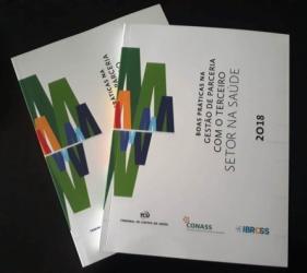 """Lançamento do livro """"Boas práticas na gestão de parceria com o Terceiro Setor na Saúde"""""""